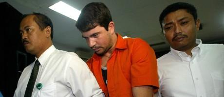 O surfista Rodrigo Gularte, condenado à morte em 2005 Foto: Dita Alangkara/AP Photo/05-08-2004