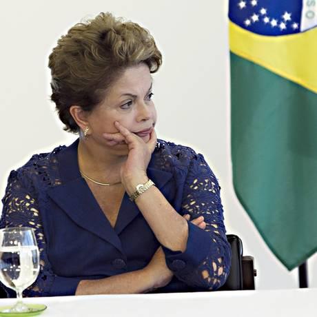 Ajustes fiscais da presidente Dilma Rousseff desagradam petistas Foto: O Globo / Jorge William/04-12-2014