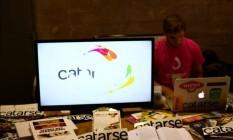 Escritório do Catarse: plataforma arrecadou R$ 25 milhões em quatro anos Foto: Rodrigo Maia / Divulgação