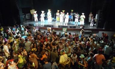 """Baile de carnaval do bloco """"Gigantes da Lira"""" acontece domingo, no Circo Voador Foto: Divulgação/André Motta Lima"""