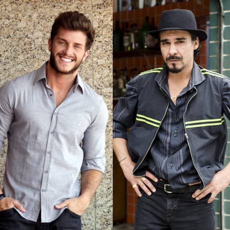 """Klebber Toledo e André Gonçalves formarão um casal em """"Império"""" Foto: Reprodução"""