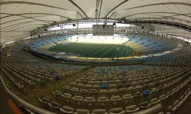 O estádio do Maracanã Foto: Custódio Coimbra / O Globo