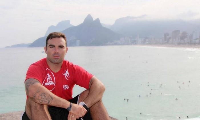 O personal trainer Chico Salgado mostrará sua metodologia de treino Foto: Divulgação
