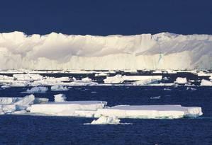 Acreditava-se que a geleira era uma área intocada pelas correntes mais quentes Foto: Esmee van Wijk / AFP