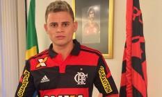 Jonas é o novo reforço rubro-negro Foto: Divulgação / Flamengo