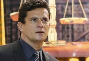 juiz Sérgio Moro, responsável pelas ações da Lava-Jato, Foto: Marcos Tristao / O Globo