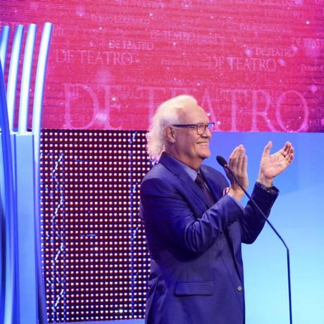 Ney Latorraca, o artista homenageado no Prêmio Cesgranrio de Teatro Foto: Marcos Ramos / Agência O Globo