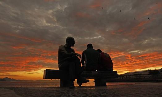 Quarta-feira começa com sol entre nuvens na Zona Sul Foto: Thiago Lontra / Agência O Globo