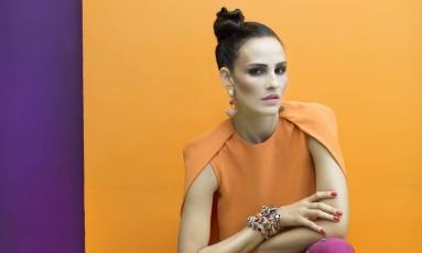 Fernanda Tavares em ensaio para o ELA Foto: Vicente de Paulo