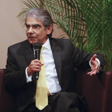 Ex-presidente do STF Ayres Britto Foto: Hudson Pontes / Agência O Globo