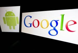 Sistema operacional do Google mantém ampla vantagem em relação ao iOS, da Apple Foto: Andrew Harrer / Bloomberg