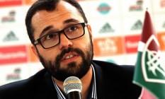 O vice de futebol do Fluminense, Mario Bittencourt, disse que os dois clubes estão se esforçando para valorizar os campeonatos que disputam Foto: Fluminense/Divulgação