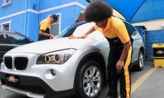 AutoSpa: com crise hídrica, serviço de lava-jato com menos água registrou alta de 20% no faturamento em 2014 Foto: Divulgação