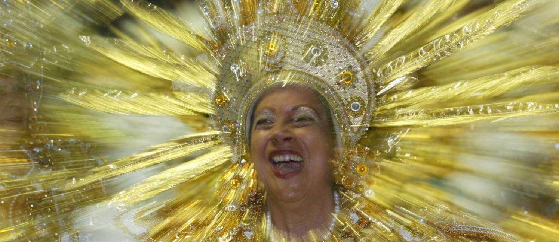 Baiana da Imperatriz em 2003: ala coleciona prêmios Foto: Marco Antônio Teixeira / O Globo