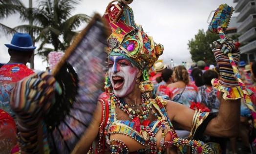 EC Rio de Janeiro (RJ) 31/01/2015 - Carnaval 2015 - Banda de Ipanema. Foto Alexandre Cassiano / Agência O Globo. Foto: Alexandre Cassiano / Agência O Globo