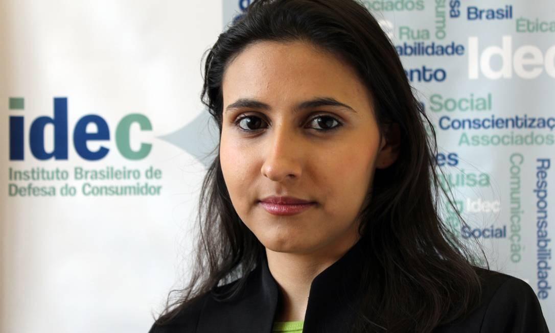Veridiana Alimonti, advogada do Instituto Brasileiro de Defesa do Consumidor (Idec) Foto: / Divulgação