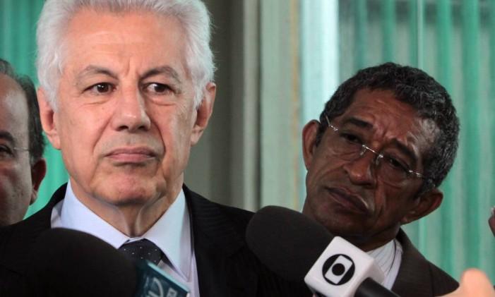 Deputado Arlindo Chinaglia, candidato do PT à presidência da Câmara Foto: Givaldo Barbosa / Agência O Globo