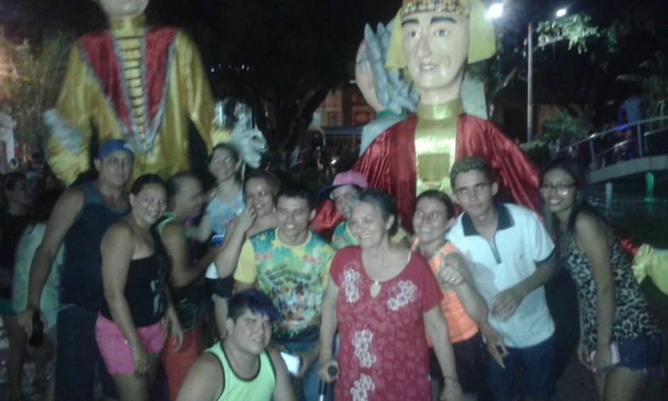 O pré-carnaval em Iguatu, no Ceará, animou os foliões Foto: William Monteiro/Foto do leitor