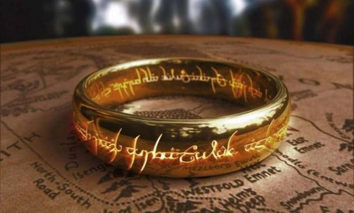O anel que aparece nos filmes Foto: Divulgação