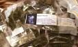Pacotinhos de maconha prontos para a venda no Colorado