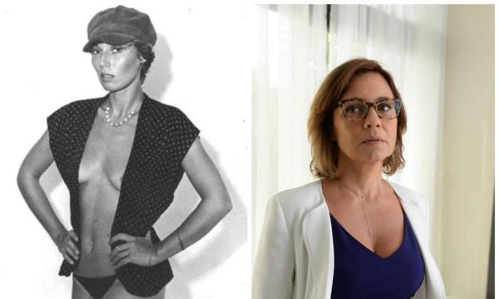 Tania Scher e Adriana Esteves Foto: Divulgação