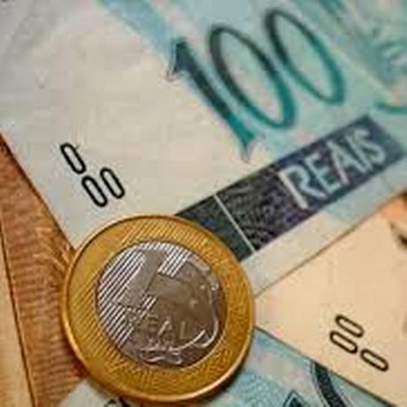 Cédulas e moeda de real Foto: Divulgação / Divulgação