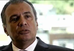 Pedro Barusco, ex-braço-direito de Renato Duque na Petrobras Foto: TV Globo / Reprodução