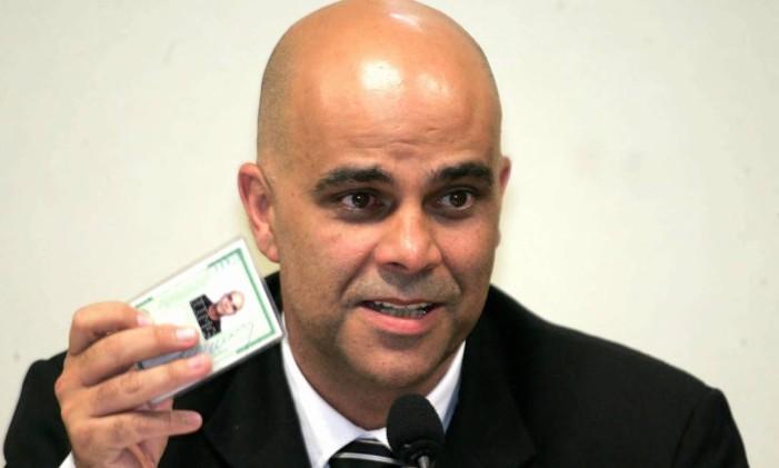 O empresário Marcos Valério, envolvido no mensalão do PT Foto: Roberto Stuckert Filho / Arquivo O Globo