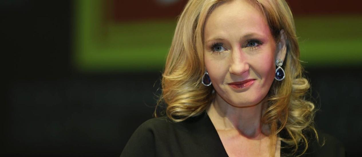 A escritora J.K. Rowling Foto: Lefteris Pitarakis / AP