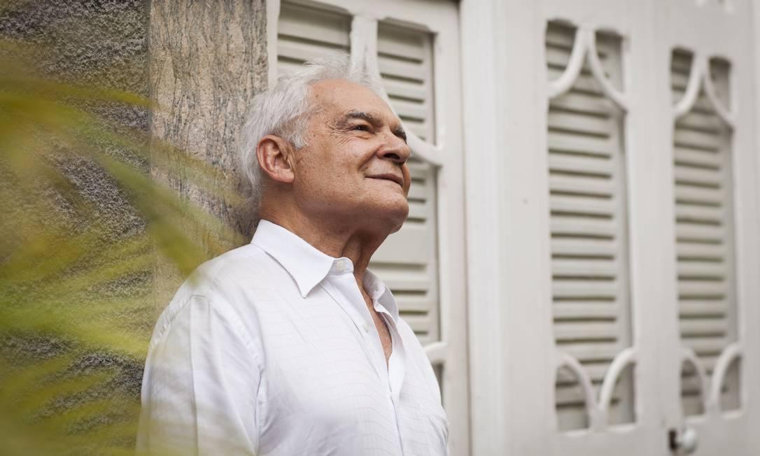 """Othon Bastos não sabia do desenvolvimento de seu personagem na trama de """"Império"""" Foto: / Bárbara Lopes"""