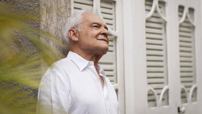 """Othon Bastos não sabia do desenvolvimento de seu personagem na trama de """"Império"""" Foto: Bárbara Lopes"""