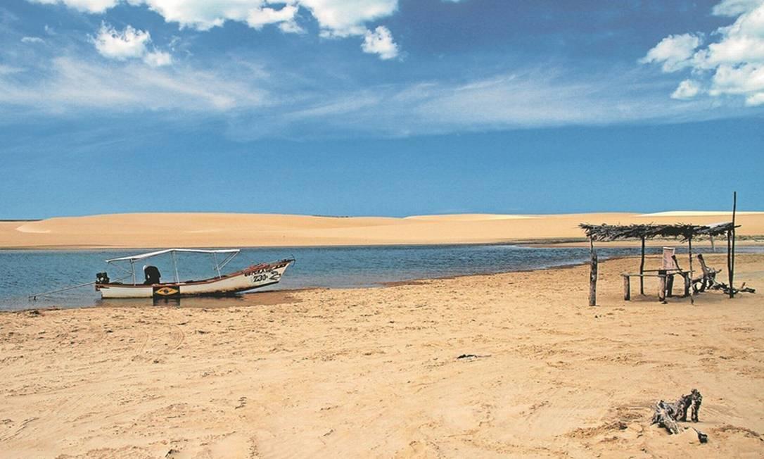 Galinhos, no Rio Grande do Norte Foto: Eduardo Vessoni / Agência O Globo