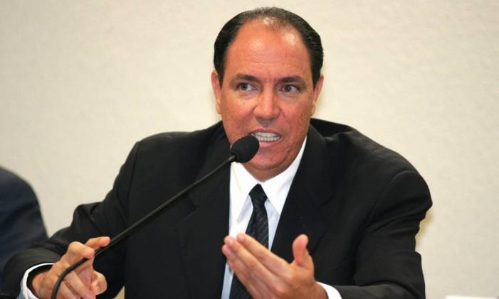 Ex-assessor do então ministro José Dirceu, Waldomiro Diniz Foto: Roberto Stuckert Filho / O Globo