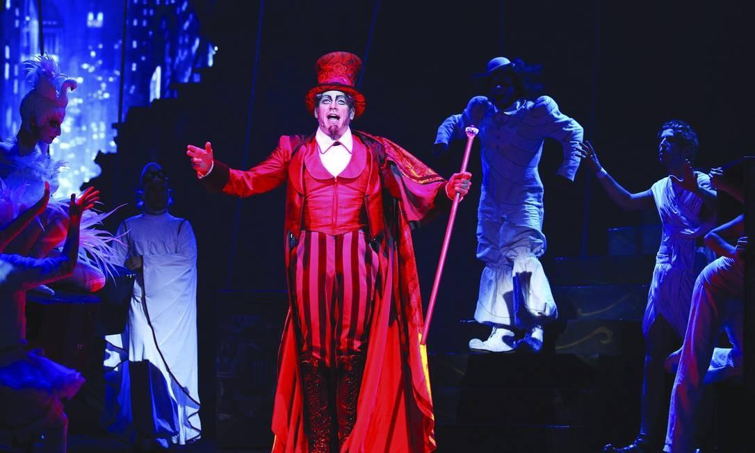 Cirque du Soleil foi um dos projetos que utilizaram a Lei Rouanet no ano passado Foto: / Divulgação