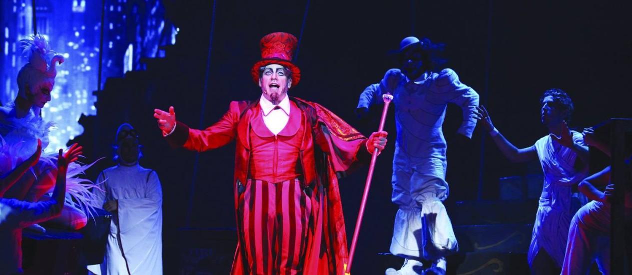 Cirque du Soleil foi um dos projetos que utilizaram a Lei Rouanet no ano passado Foto: Divulgação