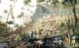 Desmatamento foi fator para degradação do solo