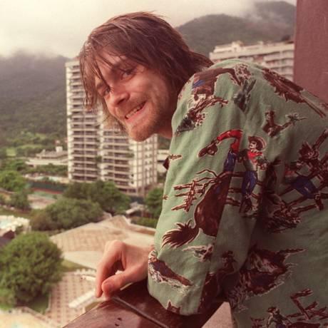 Kurt Cobain, vocalista do Nirvana Foto: Márcia Foletto / Márcia Foletto