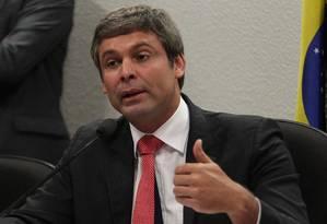 O senador Lindbergh Farias (PT-RJ) Foto: André Coelho/26-2-2013 / Agência O Globo