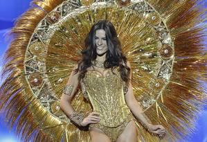 A Miss Ceará, Melissa Gurgel, que foi alvo de declarações preconceituosas por ser nordestina em 2014 Foto: Divulgação