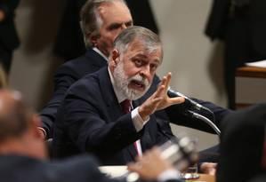 Paulo Roberto Costa, ex-diretor de Abastecimento da Petrobras Foto: André Coelho/2-12-2014 / Agência O Globo