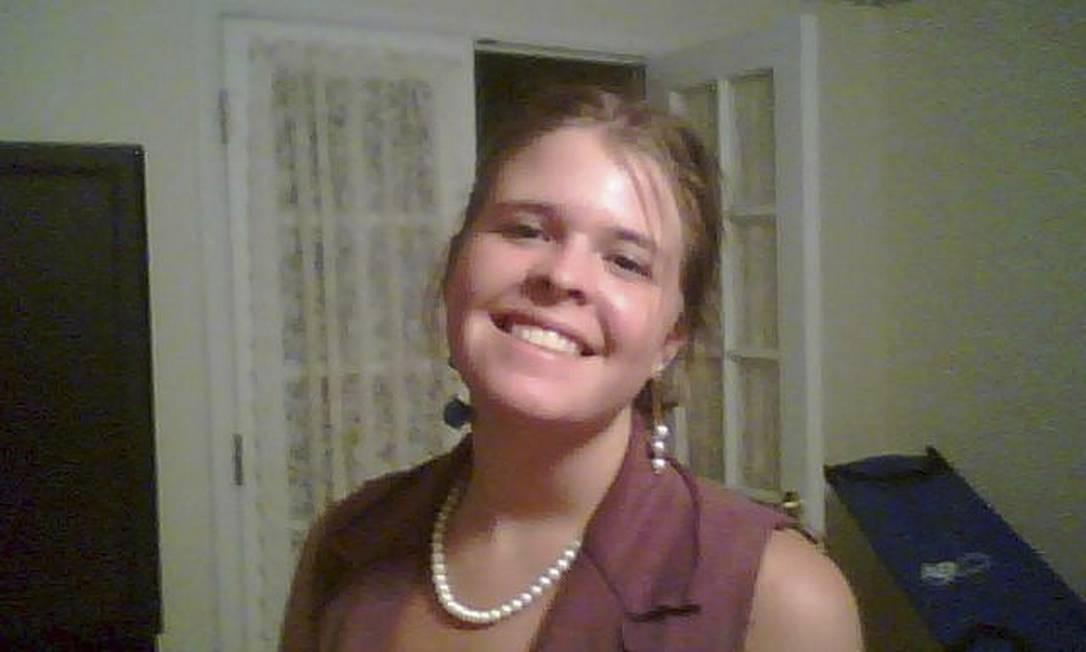 Kayla Mueller. Pentágono negou que agente humanitária tenha morrido em bombardeio aéreo das forças jordanianas Foto: HANDOUT / REUTERS