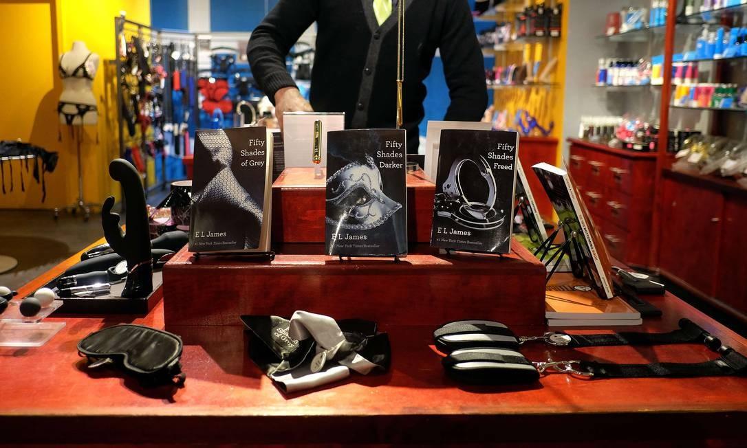 Loja de Nova York vende acessórios baseados no best-seller Foto: JEWEL SAMAD / AFP