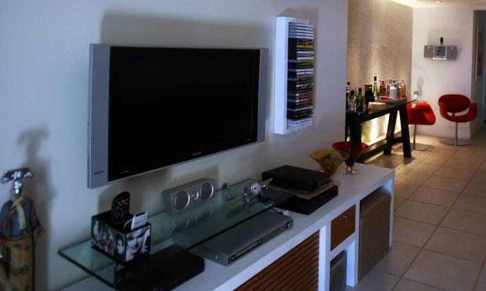 NI Niterói ( RJ) 28/04/2009 Morar Bem / Apartamento para jovens casais. apartamento projetado pela arquiteta Renata Manso. Foto Marcos Tristão/ Ag. O Globo Foto: Marcos Tristão / Agência O Globo