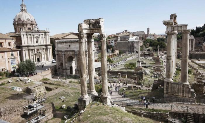Fórum na capital italiana Roma Foto: The New York Times
