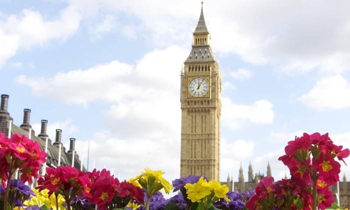 Big Ben, em Londres Foto: Max Nash / AP