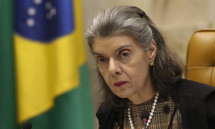 Ministra do Supremo Tribunal Federal, Cármen Lúcia Foto: STF