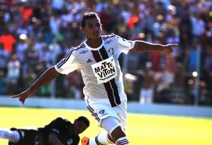 Lucas Gomes deve ser o substituto de Fred no clássico de sábado contra o Botafogo Foto: Nelson Perez / Fluminense