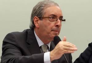 Cunha diz que não está presidência da Câmara para agradar ao governo Foto: Givaldo Barbosa/11-2-2015