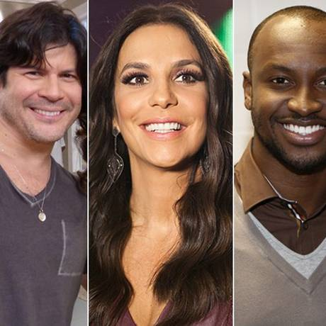 Paulo Ricardo e Thiaguinho se unem à Ivete Sangalo no juri do 'SuperStar' Foto: TV Globo/divulgação