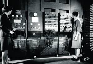 Documentário resgata história das programadoras do Eniac, primeiro computador moderno, cujo trabalho pioneiro de programação nunca foi reconhecido Foto: Wikipedia / Wikipedia